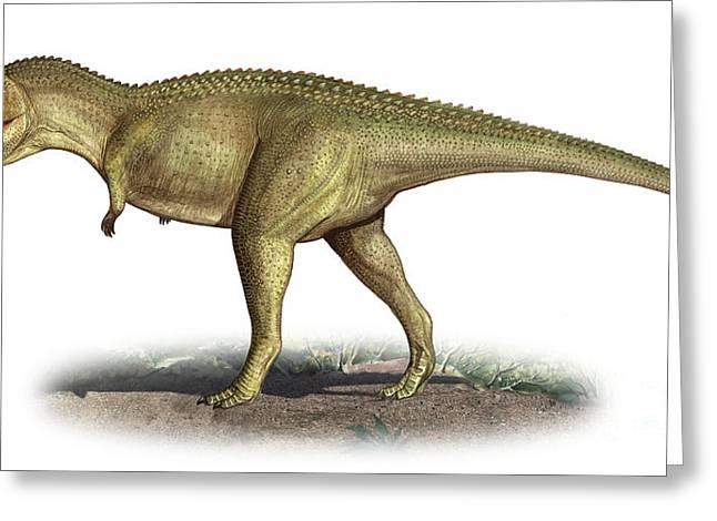 Tarascosaurus Salluvicus, A Prehistoric Greeting Card by Sergey Krasovskiy
