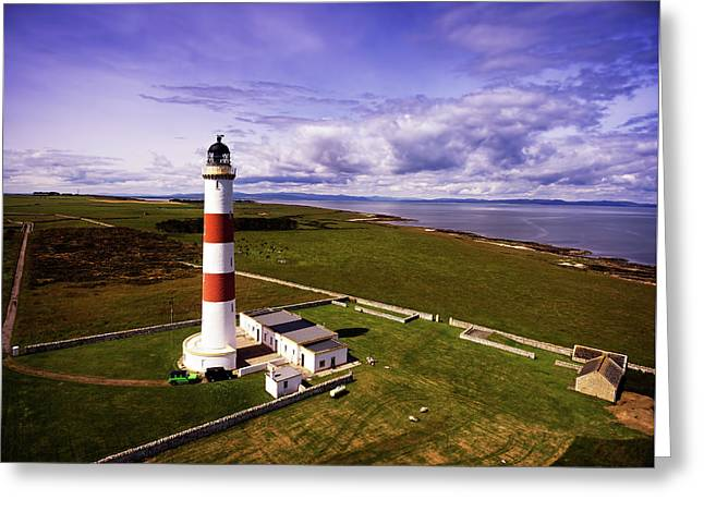 Tarbat Ness Lighthouse Greeting Card