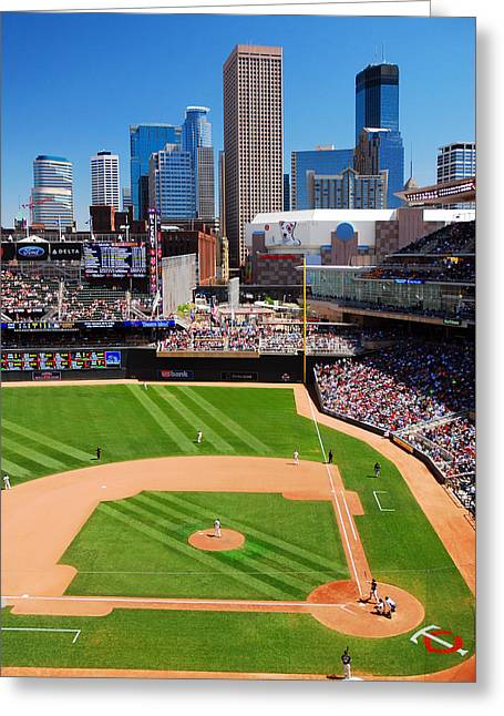 Target Field, Home Of The Twins Greeting Card