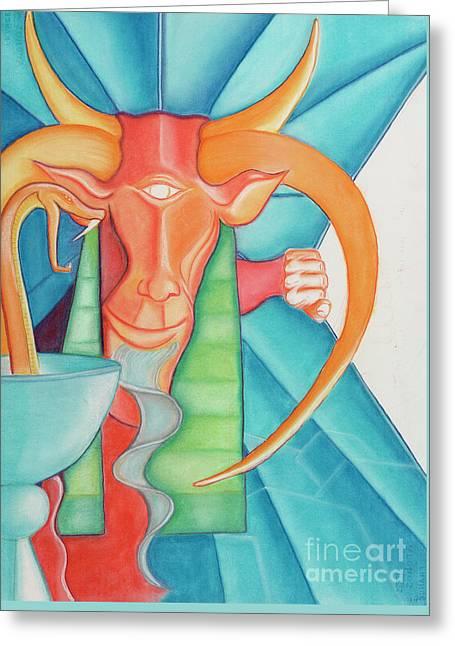 Tarot Devil Greeting Card