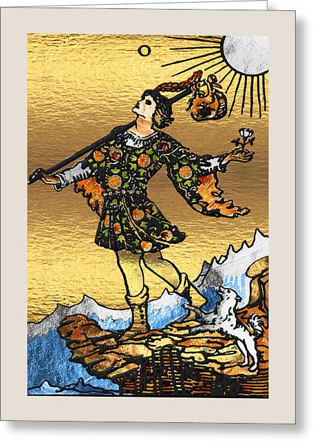 Tarot - Major Arcana - The Fool   Greeting Card