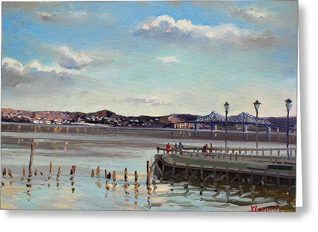 Tarrytown View Greeting Card by Ylli Haruni