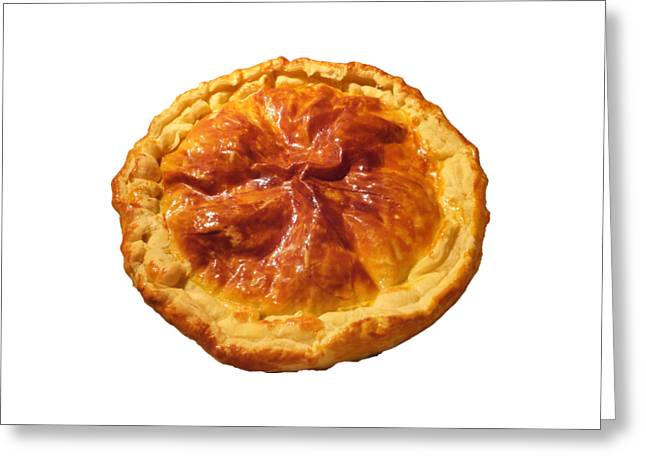 Greeting Card featuring the photograph Tourte by Marc Philippe Joly