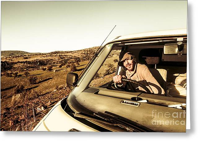 Tasmania Travel Tour Greeting Card by Jorgo Photography - Wall Art Gallery