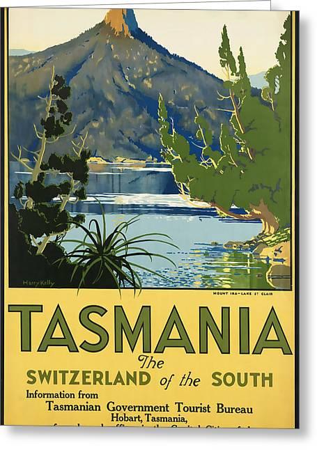 Tasmania_switzerland Of The South Greeting Card
