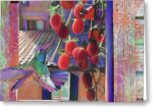 Taste Of Italy  Greeting Card