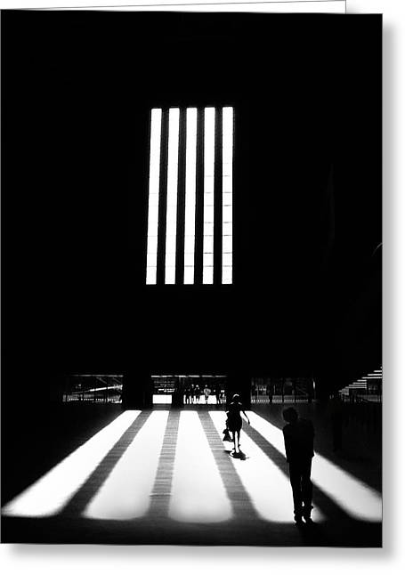Greeting Card featuring the photograph Tate Modern by Art Shimamura