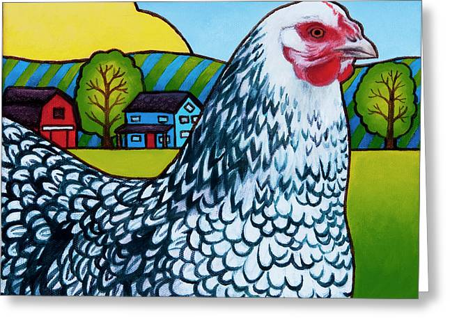 Tater Greeting Card by Stacey Neumiller