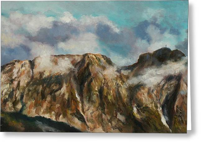 Tatry Mountains- Giewont Greeting Card