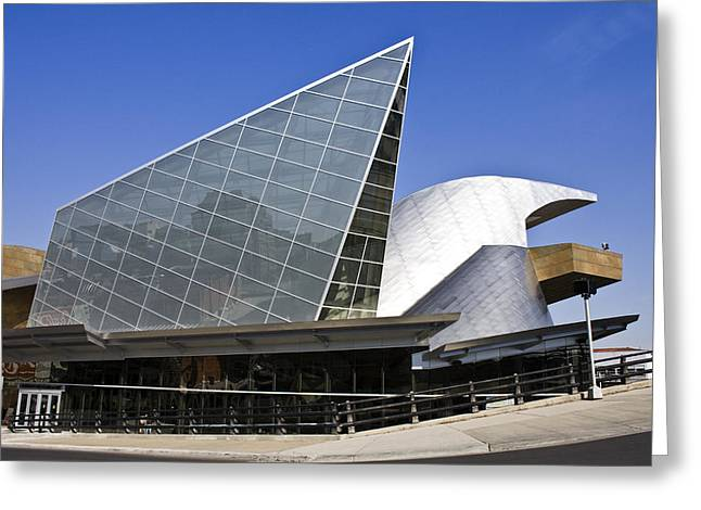 Roanoke Greeting Cards - Taubman Museum of Art Roanoke Virginia Greeting Card by Teresa Mucha