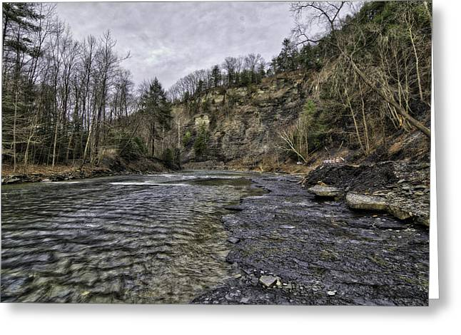 Taughannock Creek Greeting Card