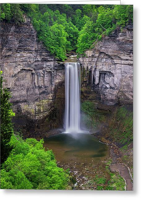 Taughannock-summer Greeting Card