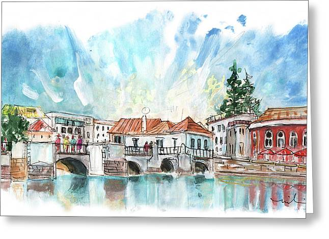 Tavira 08 Greeting Card by Miki De Goodaboom