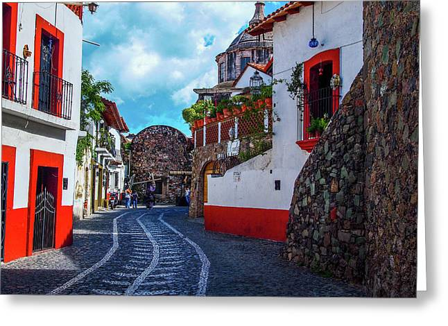 Taxco Greeting Card by Fred Boehm