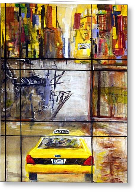 Taxi 7 Greeting Card
