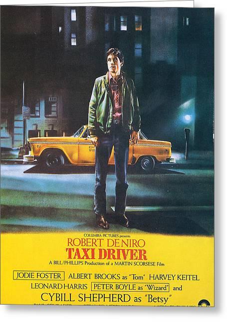 Taxi Driver - Robert De Niro Greeting Card