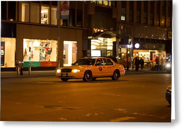 Taxi New York  Greeting Card