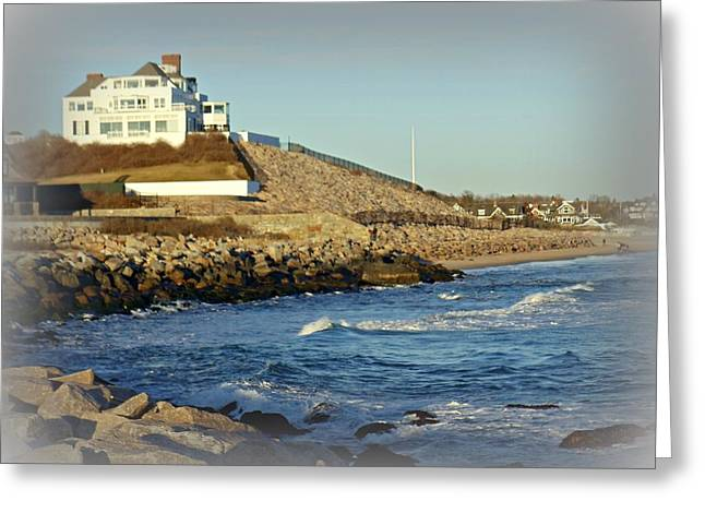 Taylor Swift Rhode Island Home Greeting Card by Diane Valliere