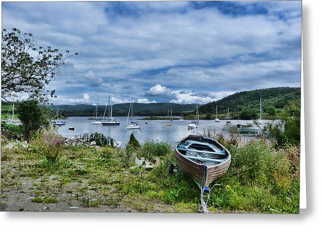 Tayvallich Harbour Greeting Card