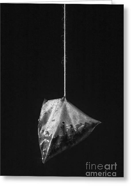 Tea Bag Still Life Greeting Card by Edward Fielding
