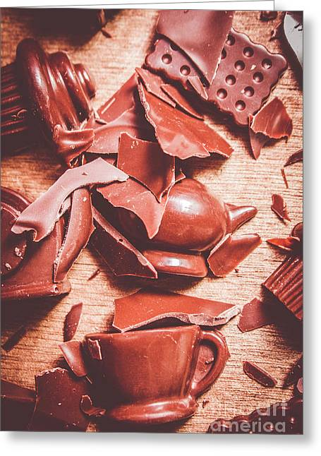 Tea Break  Greeting Card by Jorgo Photography - Wall Art Gallery