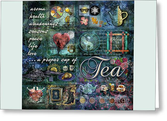Tea Greeting Card