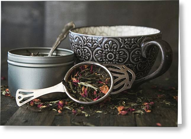 Tea Time 8312 Greeting Card