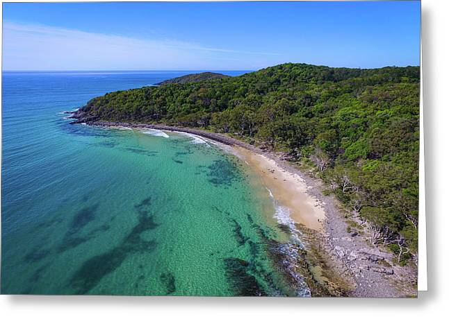 Greeting Card featuring the photograph Tea Tree Bay At Noosa by Keiran Lusk