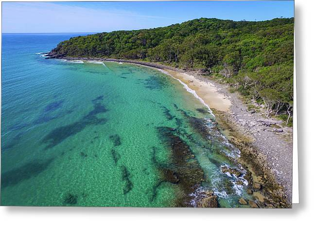 Greeting Card featuring the photograph Tea Tree Bay In Noosa National Park by Keiran Lusk