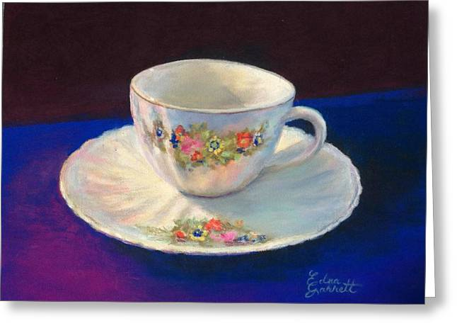 Teacup Greeting Card