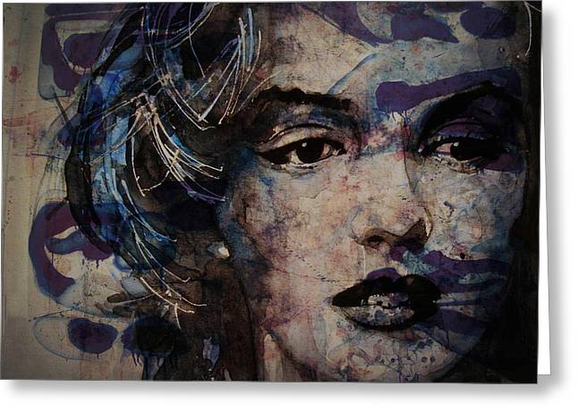 Tears Are How My Eye's Speak When  My Lips Can't Describe How Much I Have Been Hurt Greeting Card by Paul Lovering