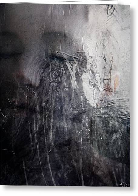 Greeting Card featuring the digital art Tears Of Ice by Gun Legler
