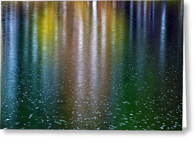 Greeting Card featuring the photograph Tears On A Rainbow by John Haldane