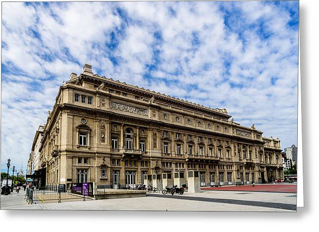 Teatro Colon Greeting Card