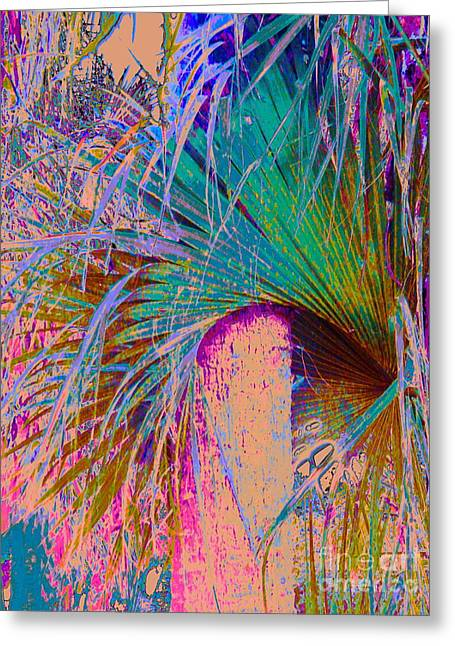 Techni Frond Greeting Card