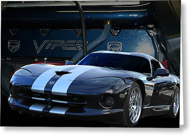 Ted 950 Hp Viper Greeting Card by Jim  Hatch