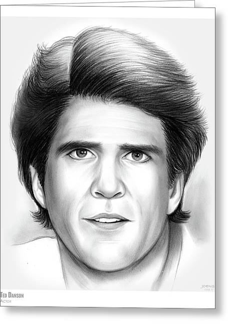 Ted Danson Greeting Card