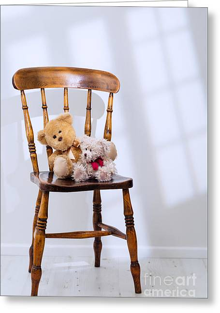 Teddy Bears  Greeting Card by Amanda Elwell