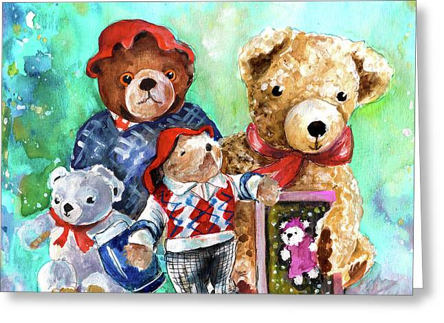 Teddy Bears From York Greeting Card