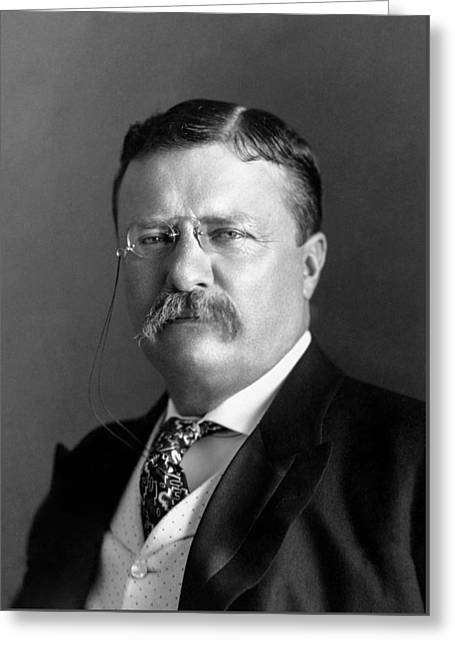 Teddy Roosevelt Portrait - 1904 Greeting Card
