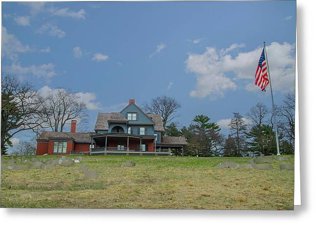 Teddy Roosevelts House - Sagamore Hill Greeting Card