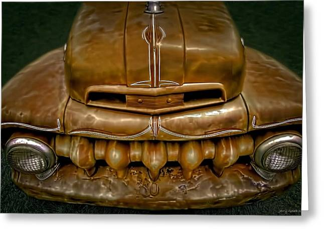 Teeth Greeting Card by Jerry Golab
