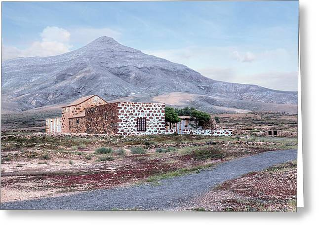 Tefia - Fuerteventura Greeting Card by Joana Kruse