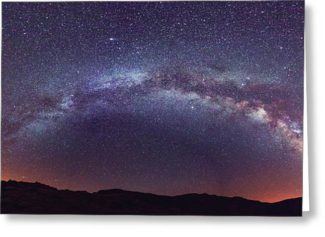 Teide Milky Way Greeting Card