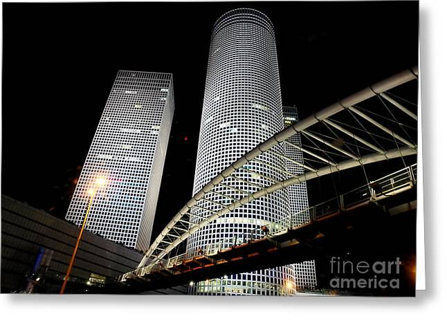 Tel Aviv Azrieli Towers Greeting Card