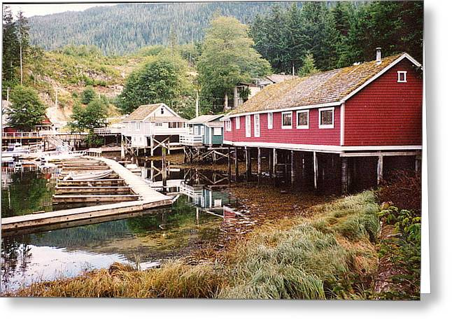 Telegraph Cove 2 Photograph Greeting Card