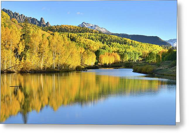 Greeting Card featuring the photograph Telluride Mountain Lake by Ray Mathis