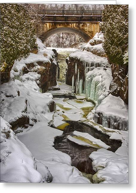 Temperance River Gorge Greeting Card by Craig Voth