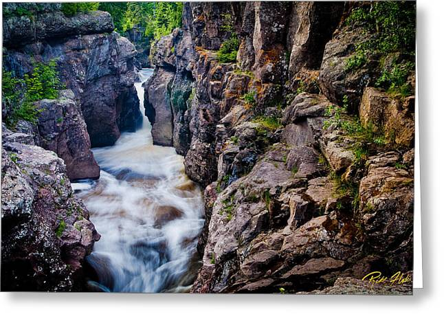Temperance River Gorge Greeting Card