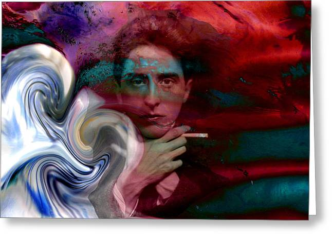 Tempest Of A Poet, Jean Cocteau Greeting Card